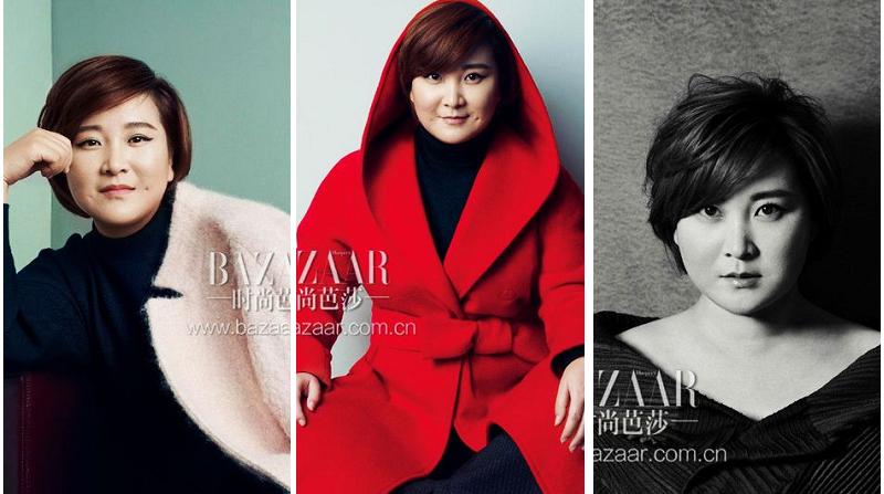 Актриса Цзя Лин попала на модный журнал