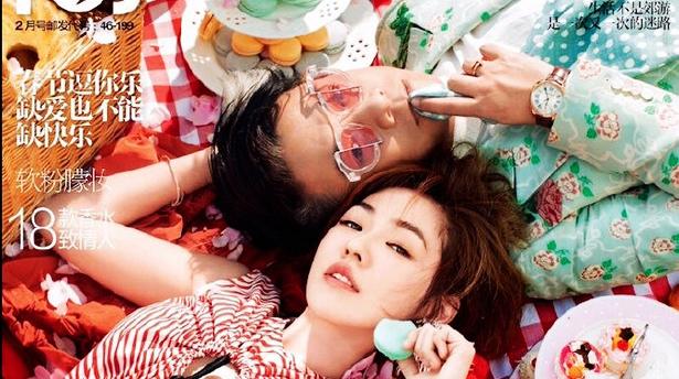 Тайваньские ведущие Цай Канъюн и Сюй Сиди попали на обложку «COSMO» на фестиваль
