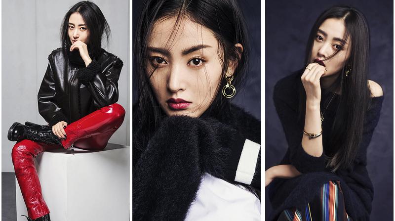 Чжан Тяньай в новых фото для «L'OFFICIEL»