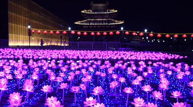 31-я Нанкинская выставка фонарей зажгла свои огни