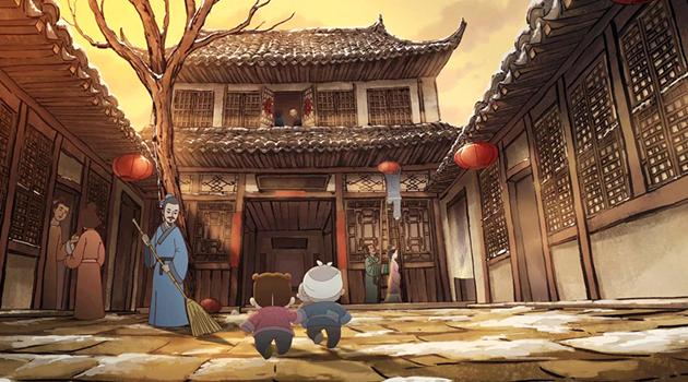 """Китайцы под впечатлением от мультфильма """"Первый день Нового года"""""""