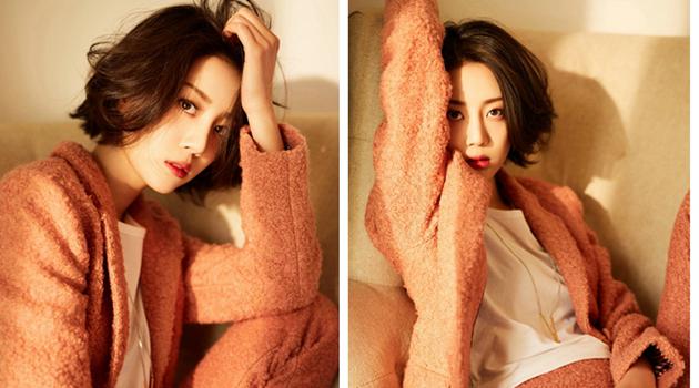 Модная фотосессия актрисы Ли Сижуй