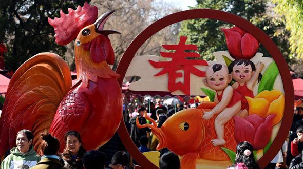 Праздник Весны в 'городе весны' Куньмине