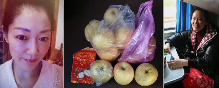 Пора возвращаться на работу: чемоданы китайцев наполнены заботой их родителей