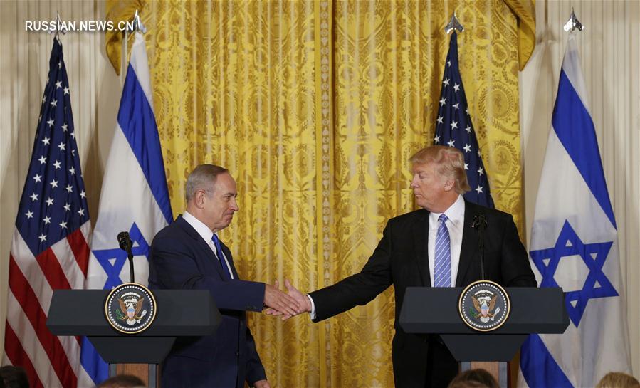 Нетаньяху иТрамп обсудили израильско-палестинский конфликт
