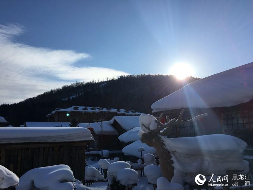 В 2016 году в течение зимнего туристического сезона количество туристов, посетивших провинцию Хэйлунцзян, стало новым рекордом в истории