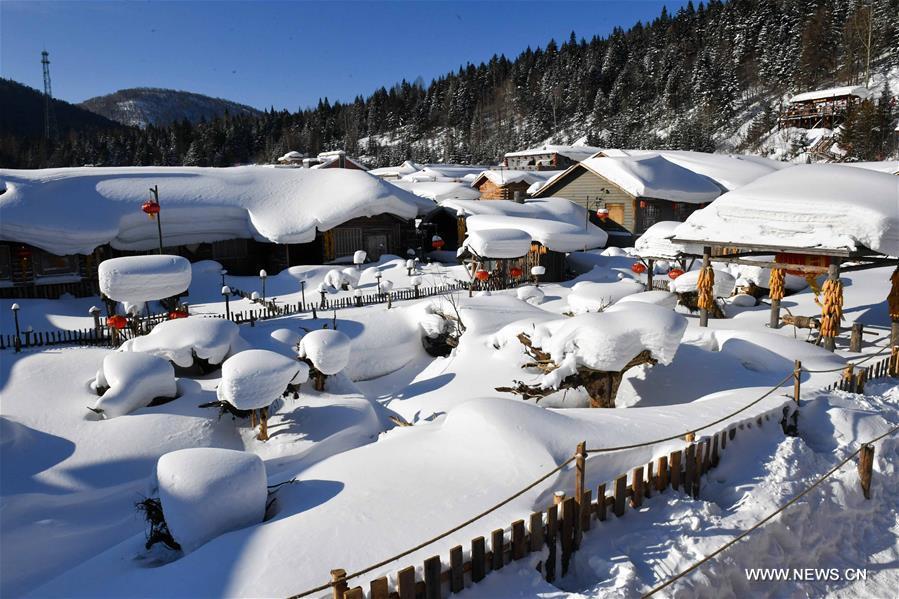 Снежный край на северо-востоке Китая