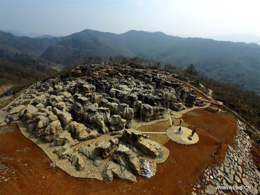 Каменный лес в провинции Аньхой