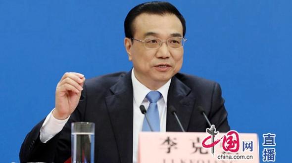 Встреча премьера Госсовета КНР Ли Кэцяна с журналистами