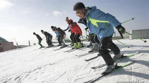 Развитие зимних видов спорта в провинции Хубэй