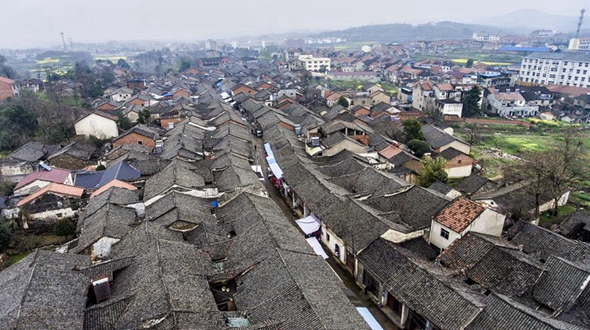 Старинная улица Сяохэ в уезде Сяочан