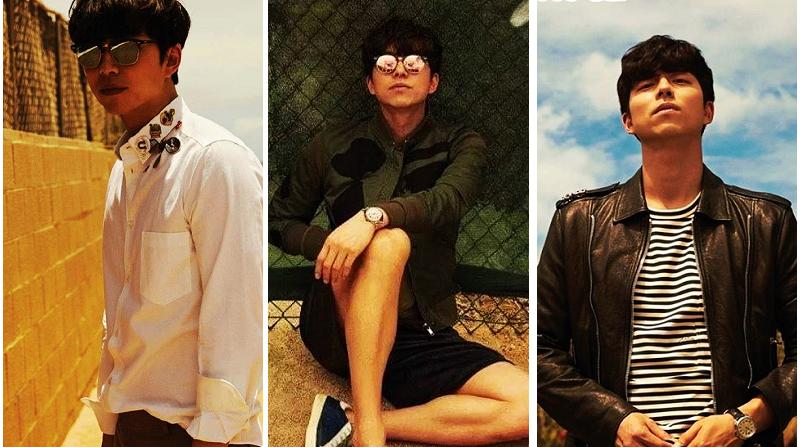 Модные снимки корейской звезды Гон Ю