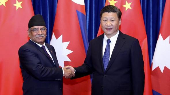 Си Цзиньпин встретился с премьер-министром Непала Пушпой Камалом Дахалом Прачандой