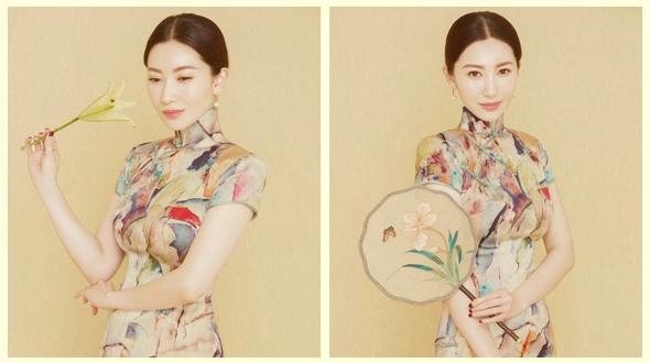 Актриса Инь Сюй создает китайский классический стиль