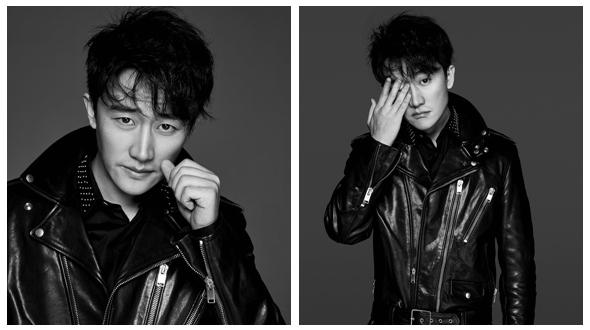 Китайский актер Хуан Сюань в модных фото