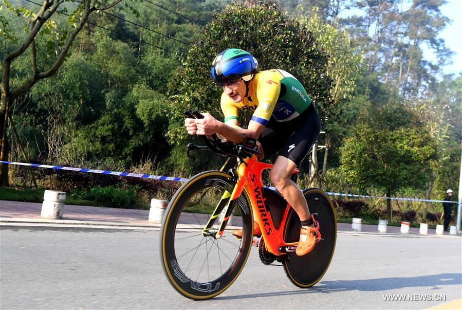 Триатлон -- Международные соревнования серии Ironman в Лючжоу: обзор