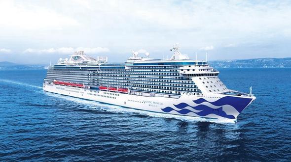 Спроектированный для Китая итальянский круизный лайнер отправился в первое плавание