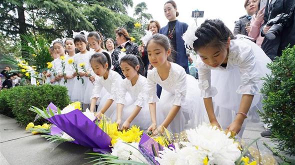 Траурные мероприятия в память жертв Нанкинской резни прошли в Нанкине