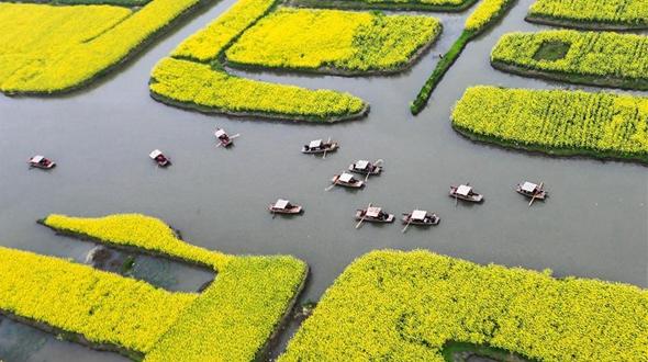 'Тысяча цветущих золотом островов' ландшафтного парка Цяньдо
