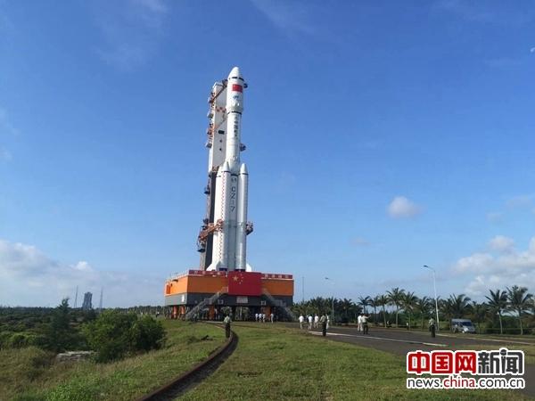 К запуску первого китайского грузового космического корабля 'Тяньчжоу-1'