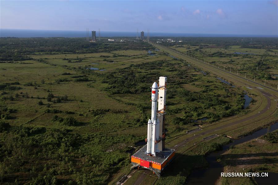 Китай осуществит запуск грузового корабля 'Тяньчжоу-1' с 20 по 24 апреля