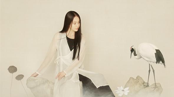 Красотка Му Цимия создает классический стиль