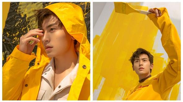 Восходящая звезда Чжан Чжэхань в новых фото