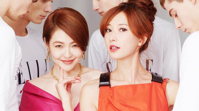 Тайваньские звезды Сюй Сиди и Линь Чжилин