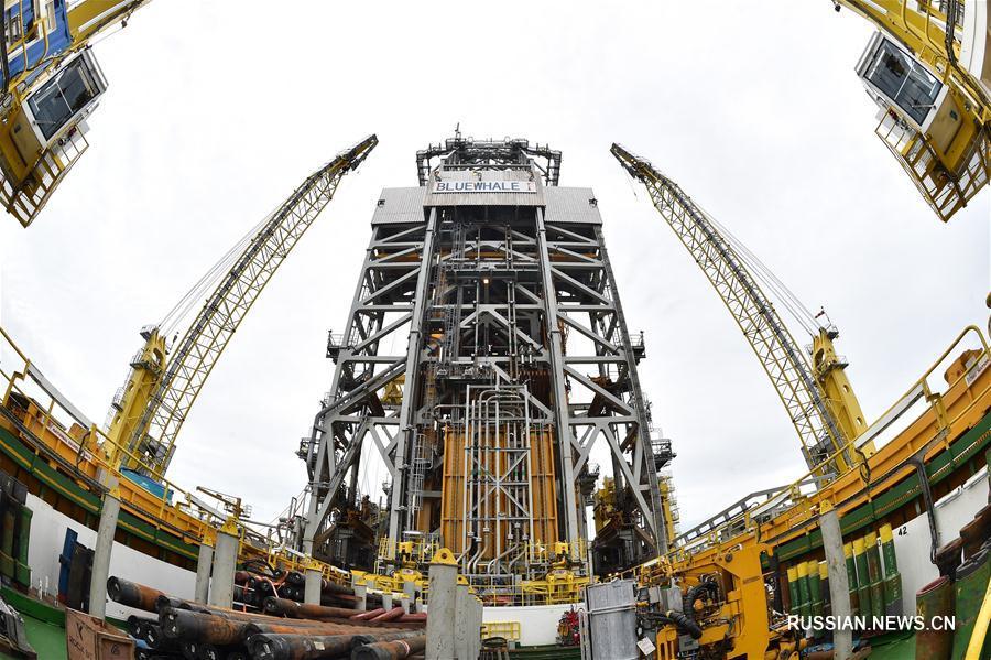Китай объявил об успешном проведении первой опытной добычи гидратов природного газа в морской акватории