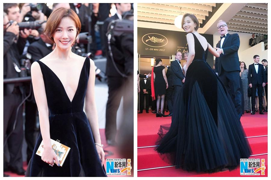 Китайская актриса Ван Лодань посетила на Каннский кинофестиваль