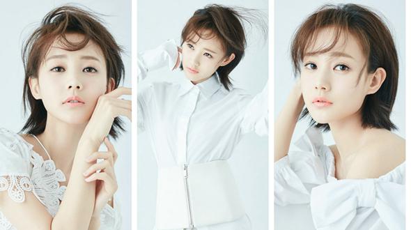 Молодая актриса Ли Итун