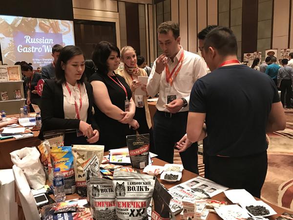 В Шанхае состоялась первая Неделя русской кухни и презентация пищевых предприятий России и Китая