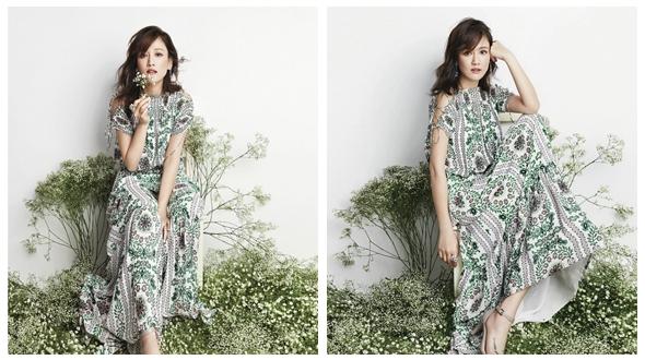 Актриса Джо Чэнь на обложке модного журнала