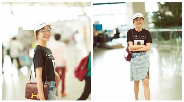 Красотка Юань Шаньшань в модных фото