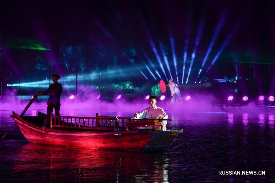 Яркий праздник в древнем городке на воде: В провинции Цзянсу стартовал международный туристический фестиваль
