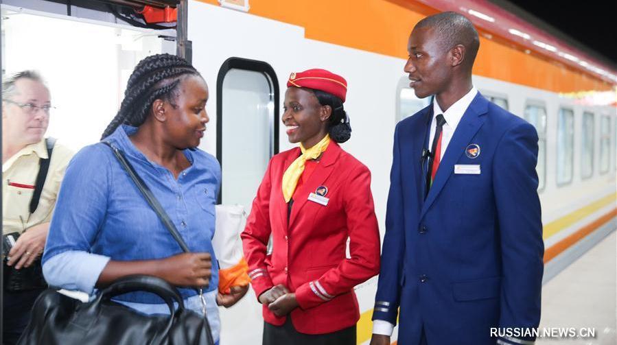 Железная дорога Момбаса -- Найроби готовится к открытию