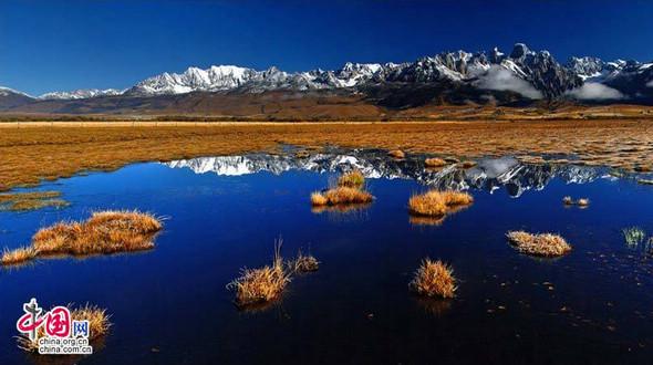 Красивые пейзажи уезда Батан в провинции Сычуань