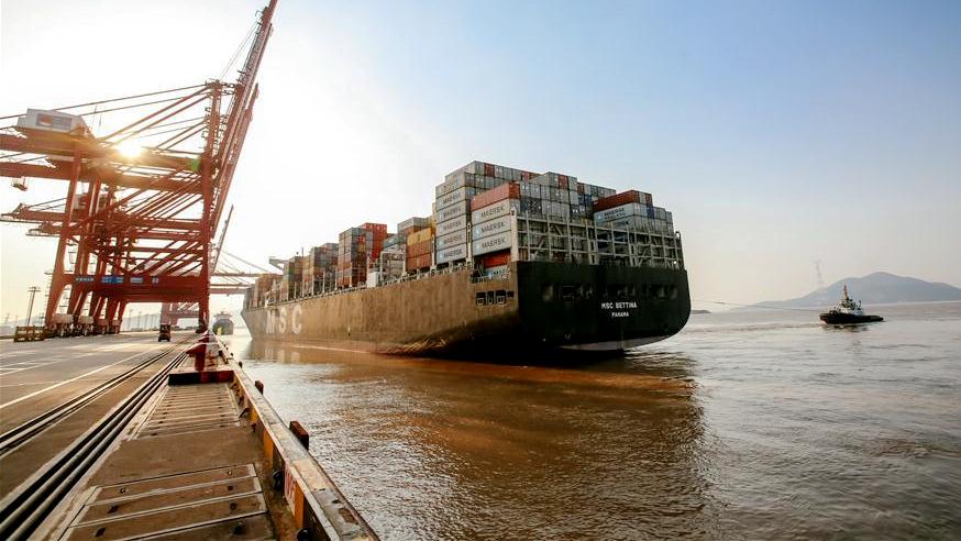 Порт Нинбо-Чжоушань -- важный опорный пункт 'Пояса и пути'