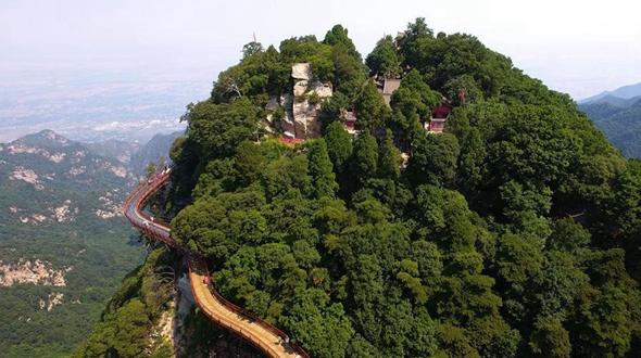 Горы Шаохуашань -- жемчужина Шэньси