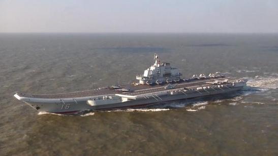Авианосец 'Ляонин' в составе отряда военных кораблей направился в Сянган для участия в мероприятиях по случаю 20-й годовщины размещения контингента НОАК в ОАР Сянган