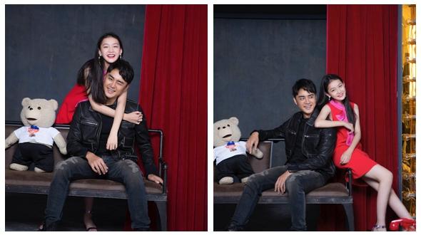 Тайваньский актер Мин Дао и молодая актриса Тан Чжэнь
