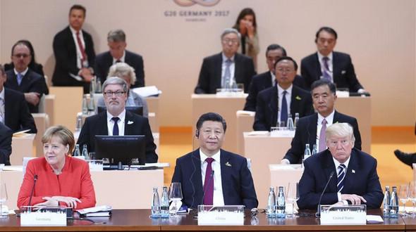 Си Цзиньпин выступил с речью о мировой экономической ситуации на саммите G20 в Гамбурге