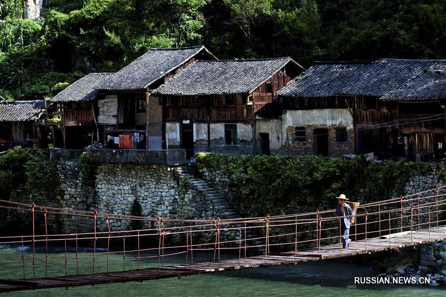 Древний городок Нинчан в Чунцине