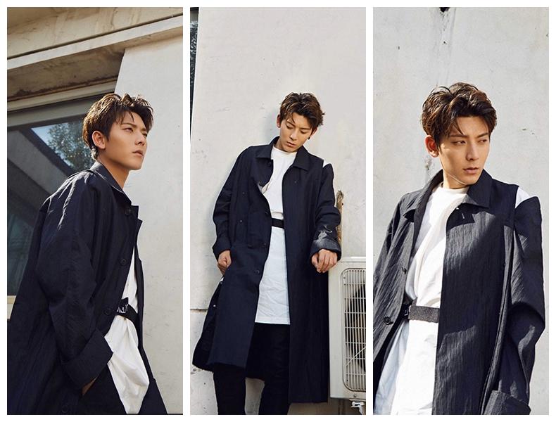 Очаровательный актер Чэнь Сян в новой фотосессии