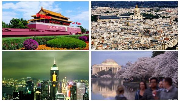 Топ-10 городов мира с наилучшей комплексной конкурентоспособностью