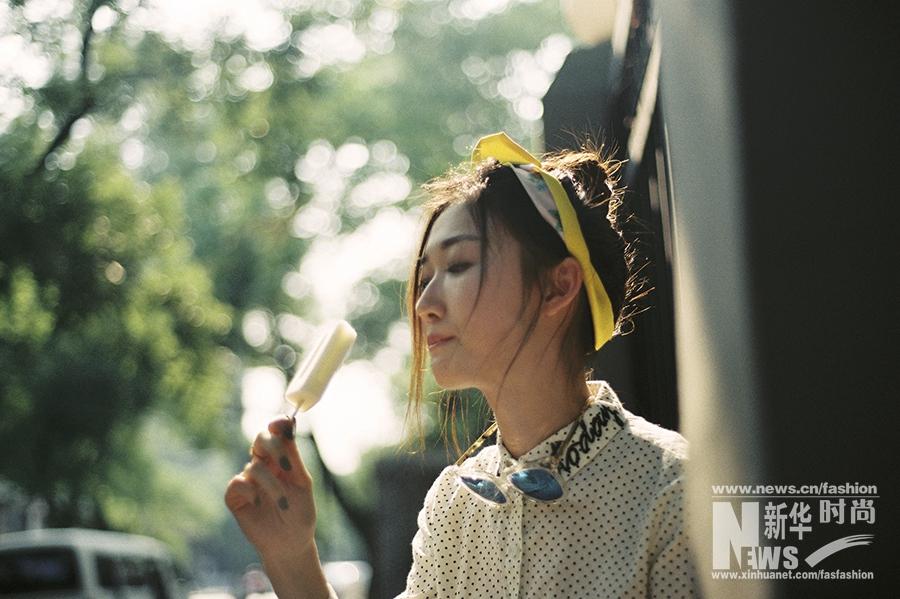 Китайская актриса Се Линьтун
