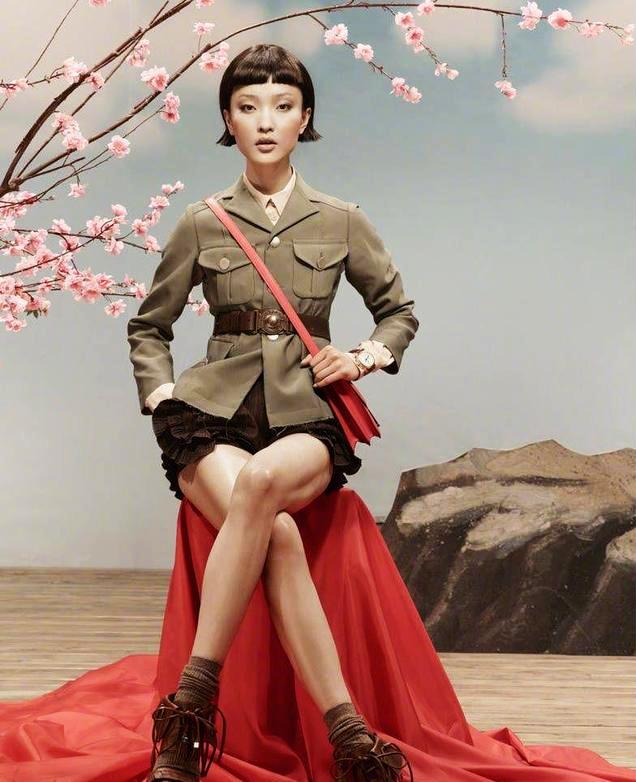 Международная модель Китая Ду Цзюань