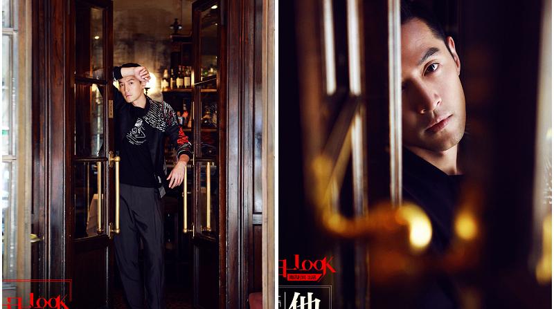 Звезда Ху Гэ в новых фото в Милане
