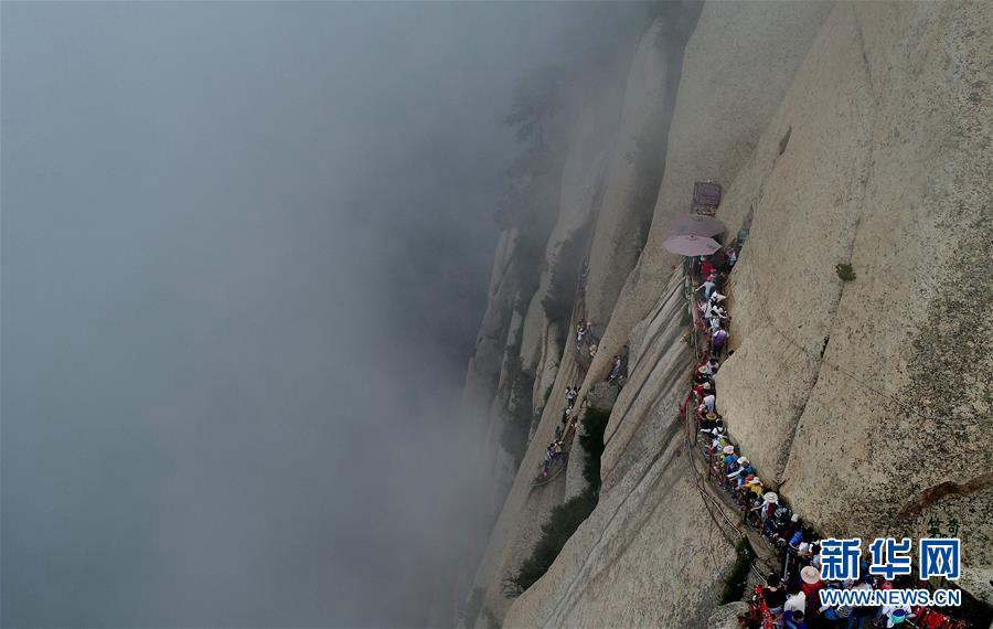 Висячая дорога в горах Хуашань