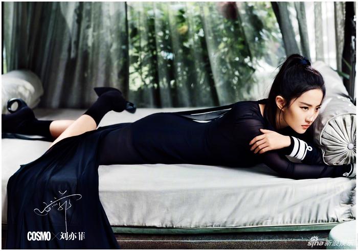 Красотка Лю Ифэй в модных блокбастерах
